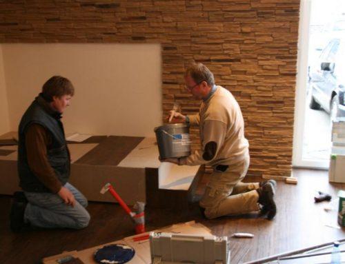 Viele fleissige Helfer auf der Langfördener Baustelle