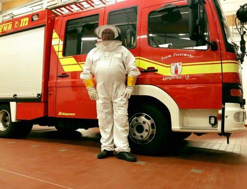 Fachberater für Insekten der Feuerwehr Langförden im Einsatz!
