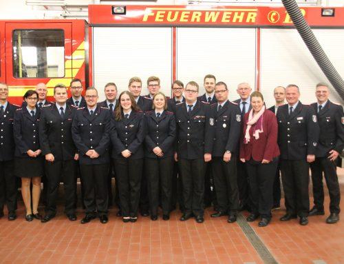 Mitgliederhauptversammlung – Feuerwehr Langförden