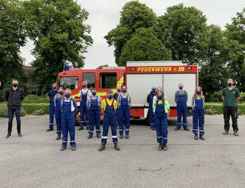 Jugendfeuerwehr nimmt Dienstbetrieb wieder auf